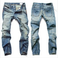 2014 ripped hole jeans men disel brand fashion designer men jeans denim pants trousers 8873