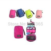 New Fashion Travel Wash Bag Cosmetic Bag Organizer case Portable Storage Bag  for underwear,socks 4 colors