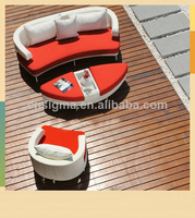Elegance And New Style Outdoor Furniture Wicker Lounge Daybed