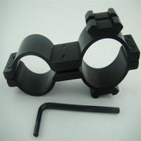 Picatinny 20mm Hunting flashlight rail barrel mount scope laser Flashlight Torch Rifle Tactical Mount