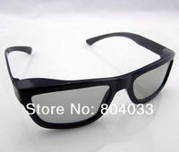 2pcs 2014 New Fashion Passive Polarized 3D Glasses for LG for Sony for Samsung Dimensional Anaglyph Movie DVD TV LCD Video Game