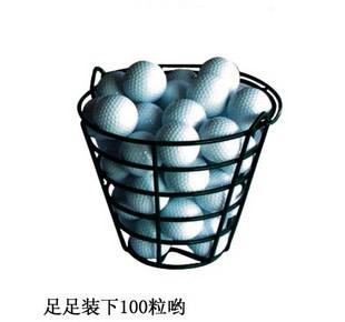 Golf ball basket, Golf cart, golf box, placed the ball basket, can put the golf ball in the basket(China (Mainland))