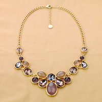 2014 Summer New Arrival Luxury Statement Alloy Bohemia Water Droplets For Women's Sweater Necklace & Pendants Free Shipping