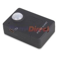 Black color wireless alarm system A9 PIR MP Alert Infrared GSM Alert Sensor Alarm Anti-theft Motion Detection