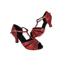 BBS-1AH01-01B Good quality latin dance shoes,latin sandals,ballroom shoes,women latin dancing shoes size4~10.5,heel height4~8cm