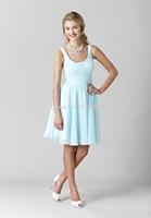 2014 New Arrival Free-Shipping Sweetheart Sleeveless Satin Cheap Bridesmaid Dress