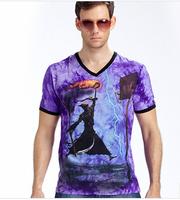 T-Shirt Men 3D Glow  Mens T Shirts Fashion 2014 L,XL,XXL,XXXL Cotton T Shirt Men Free Shipping MR1-34
