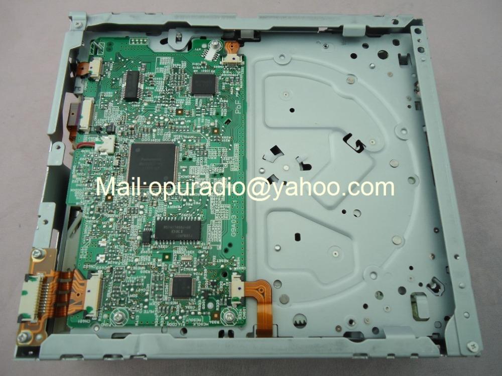 Matsushita 6 disc CD mechanism for SUBARU Mazda VW chevrolet Toyota car CD changer radio MP3 WMA tuner(China (Mainland))