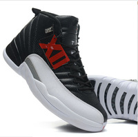 New 2014 JD 12 men sneakers wholesale price shoes genuine leather basketball shoes