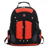 Free Shipping Wenger Men's Backpacks Printing Backpack Laptop Bag Travel Bag 6333 #