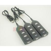 1PC High Speed Mini Slim 4 Port USB 2.0 USB Hub Converter Adapter for Laptop PC Tabs