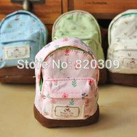 Free shipping high quality Coin Purses Cute schoolbag shape purse Wallets Korean style key holder