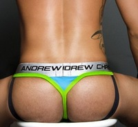 on sale AC men's thong underwear men cotton T brand andrew christian mens sexy underwear gay mens thongs and g strings
