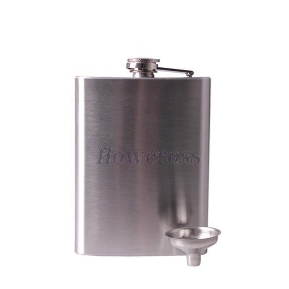 Плоская фляжка 18oz плоская фляжка activities gift hip flask 7 drinkware box 125 2