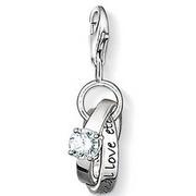 European style fashion Eternallove eternal love marriage ring pendants charm 1 7x1cm fit charm bracelet for