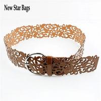 Hot fashionable waist seal Hollow out belt decoration brief thin belt strap wholesale H059E