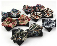 Fashion Paisley Bow Tie Women & Mens Bowtie Butterfly ties Wedding Bow Tie free shipping 50pcs/lot  #1691A