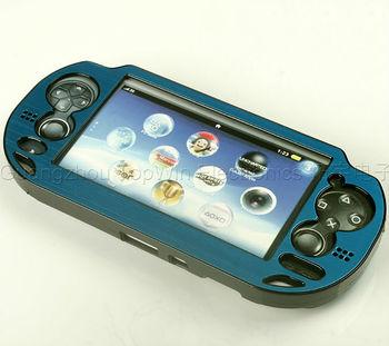 Blue Aluminum case for PSV PS VITA 1000 protective case