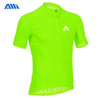 Quick-drying perspicuousness autula neon green short-sleeve ride service summer sunscreen single Men