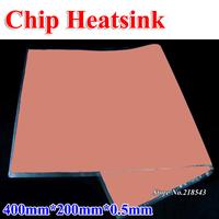 400*200*0.5mm Pink Thermal Pad Heatsink for CPU GPU VGA Chip Silicone Cooling Pad Material High Thermal Conductivity 3.8w/m.K