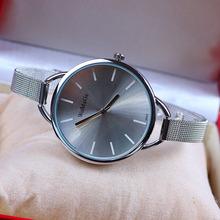 11 colors New Fashion Silver Watches for Women Dress Watches Quartz Watch 1pcs lot