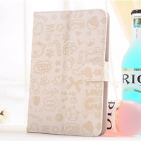 """20pcs Lovely Magic girl design Universal Case PU Leather With Stand for 9"""" Android Tablet PC MID"""