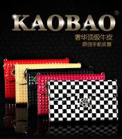 Amoi N828 N820 N821 N850 case, top quality luxury women genuine leather phone case bag  , original FCS Brand , free shipping