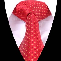 2014 New Polka Dot Pattern Jacquard Woven Men Gentlemen Tie Necktie 100% Silk T612