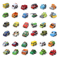 Free Shipping New 60PCS Mini Pull Back Car Toy For Baby Child Toy Birthday Christmas Gift #8355