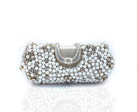 The new spot wholesale pearl diamond evening bag fashion bag boutique handbags
