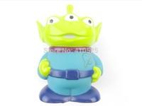 Cute Toy Story Figure Aliens Shaped Plastic Coin Bank Money Saving Jar Box 10 pcs