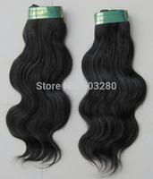 Brazilian virgin hair weft BODY WAVE 100gram/piece natural human hair extension free Express shipping