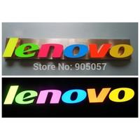 colorful painted epoxy led resin letter signage