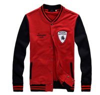 2014 Fashion Brand Embroidery Baseball Jackets Man's Long-sleeve Hoodies College Style Uniform Cardigans  M-2XL ZL351