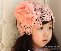 new children's princess temperament, big flower bud silk hair ribbon, pearl pretty baby headdress, hair accessories, hair band
