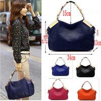 Brand New 2014 Fashion Women Handbag Color Match Desigual Shoulder Bags For Women Genuine PU Leather Messenger Bags