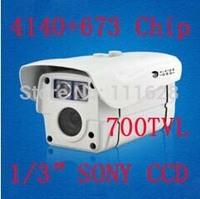 "4140+673 Chip 1/3"" SONY CCD HD 700TVL CCTV High Resolution 2 Array LED IR 30M Weatherproof Outdoor IR Camera 4/6/8/12/16mm Lens"