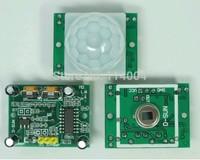 NEW PIR Sensor Human Body detecting module Pyroelectric HC-SR501 For Arduino MCU Freeshipping