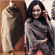 wholesale plaid shawl