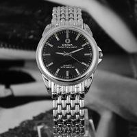 Genuine DSIDA waterproof steel watch men and women fashion large luminous dial quartz sport watch