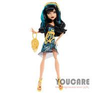 Monster High Frights Camera Action Black Carpet  Cleo de Nile Doll Free shipping Best gift for girl 2014 new monster Hight  toys