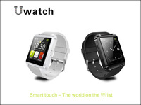 White/Black Smart bluetooth Touch Watch Sync Call SMS For 5S S5 4S Andriod IOS HTC KA-2SW11A