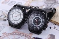 2014 New Brand fashion Genuine men student Quality Luxury Quartz Watch silicone sports watch