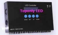 2014 hot selling,5pcs/lot ! wireless dmx512 led controller,dmx512 decoder,DC12/24v,with RGB individual dimming function!