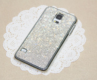 NEW Bling Claw Set Swarovski Elements Crystal Case Cover For Samsung Galaxy S5 SV i9600 ,Crystal doesn't fall off  Free Shipping