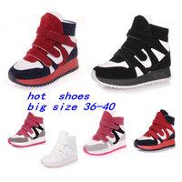 2014 Designer High Top Heel Platform Fashion Sneaker  For Lady Gauze Breathable Canvas Shoes Summer Elevator Women's Ankle Boots