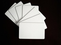 100pcs RFID Card 13.56Mhz MFS50 Re-writable Proximity Smart Card NFC Card 0.8mm Thin For Access Control System