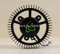 Free shiping MGT8012YR-W20 DC 12v 0.48a GTX260 GTX275 GTX280 GTX285 worm gear fan