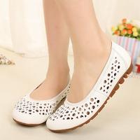 Summer 2014 women's genuine leather sandals  size 35 ~ 43