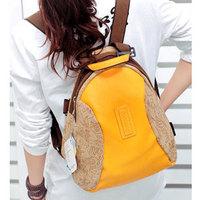 Vintage 2013 pattern backpack travel bag student bag h269,Free Shipping